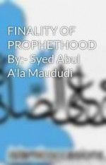 Finality of Prophethood